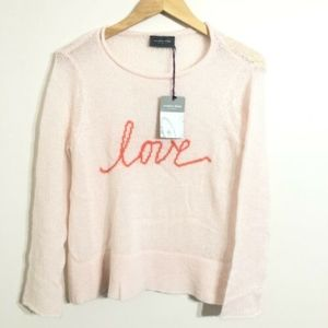 Wooden Ships Knit Sweater Top Love